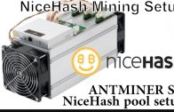 Antminer S9 mining nicehash pool-howto bitcoin mining nicehash profit-antminer setup-crypto mine btc