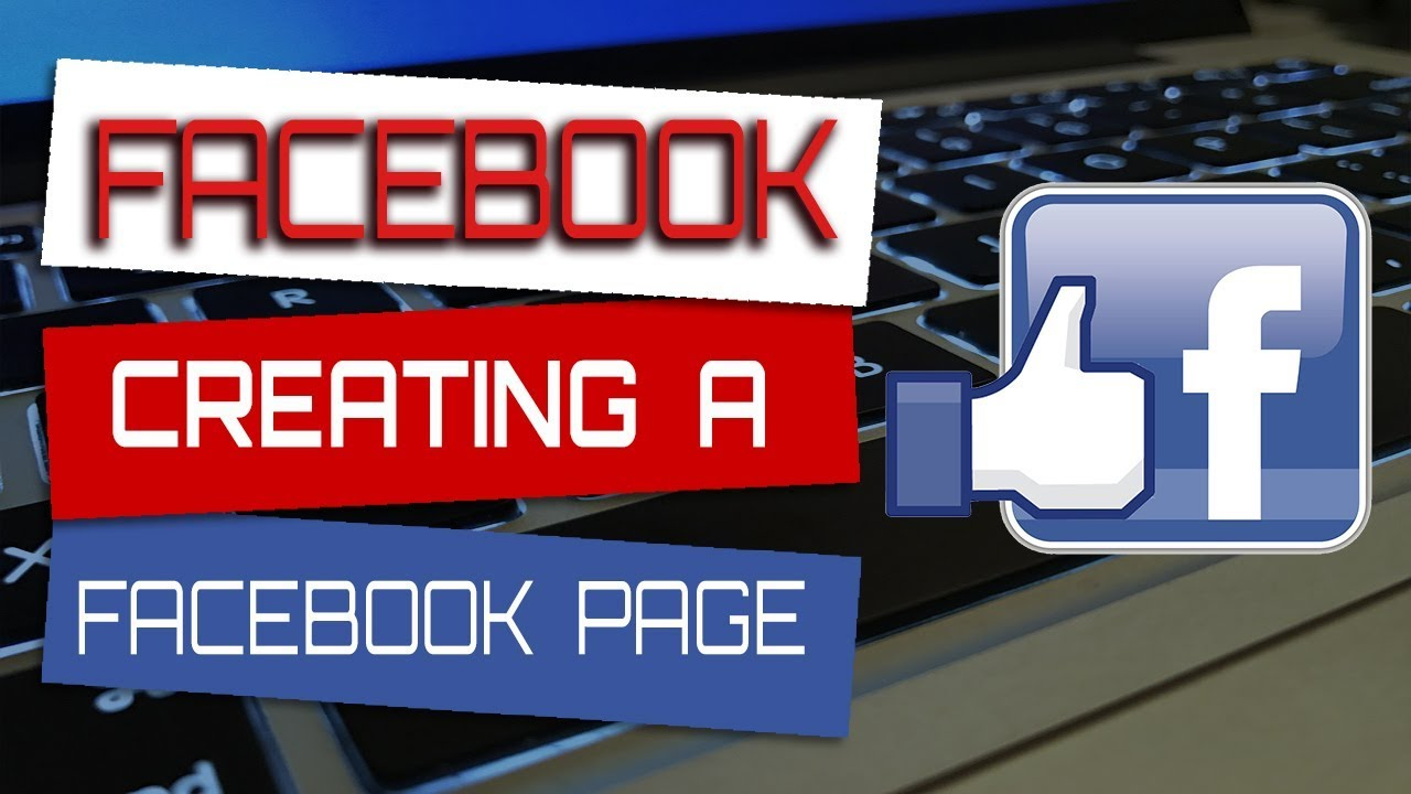 Creating a Facebook page and creating necessary media assets for FB using adobe photoshop
