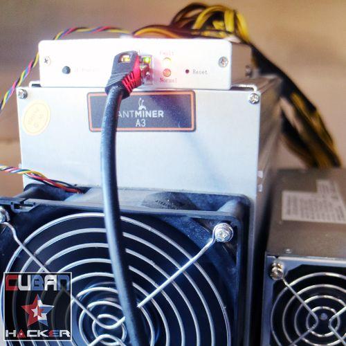 Antminer A3 Rental Mining Contract - Cuban Hacker