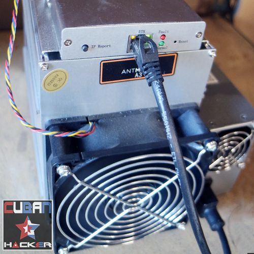 Weekly - Antminer A3-Blake(2b) - 7 Days rental - 815 GH/s mining for a week