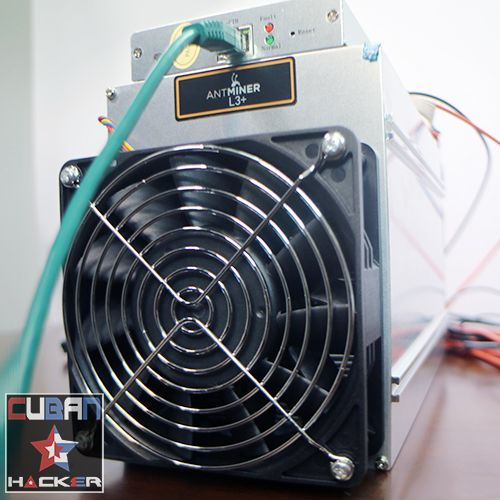 Antminer L3 Rental Mining Contract - Cuban Hacker