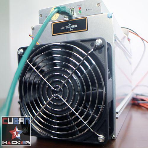 Antminer L3 Rental Mining Contract - Cuban Hacker