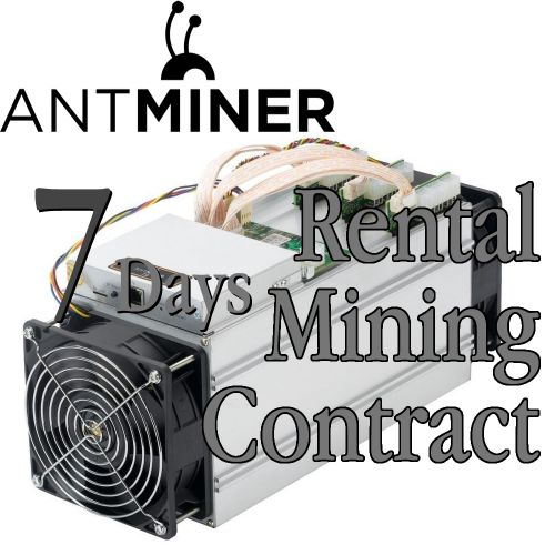 Antminer L3 Rental Contract - Cuban Hacker