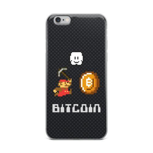 iPhone Case - Bitcoin Mario