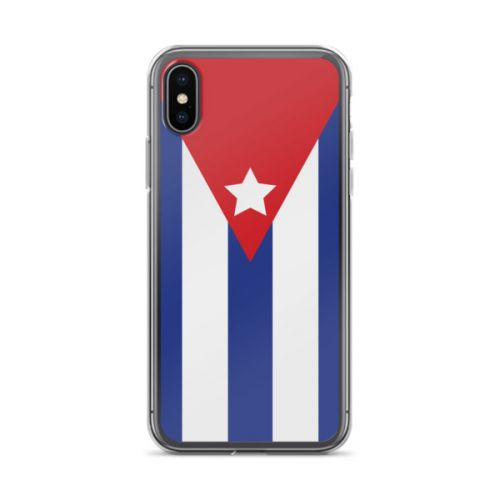 iPhone X Case - Cuban Flag