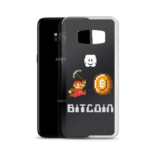 Samsung S7/S8 Case - Bitcoin Mario