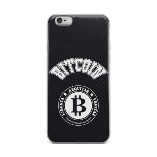 iPhone X Case - Bitcoin football style
