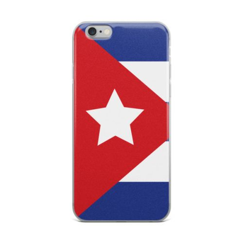 iPhone X Case - Cuban Flag Big