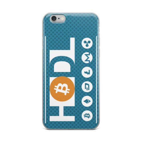 iPhone X Case - HODL crypto