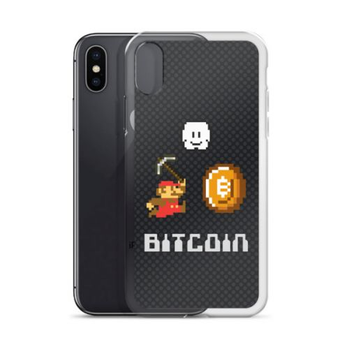 iPhone Case - Bitcoin Mario