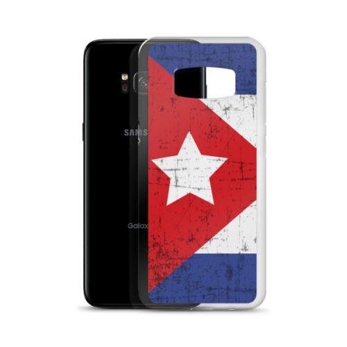 Samsung S7/S8 Case - Cuban Flag Grunge
