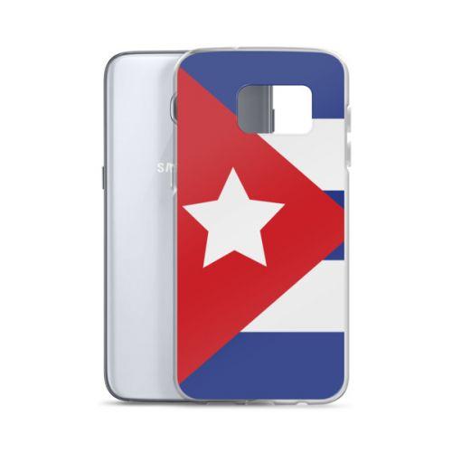 Samsung S7/S8 Case - Cuban Flag Big