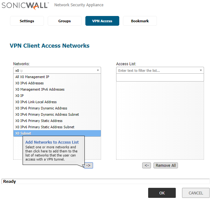 How to configure Small Business SSL VPN to enable remote user access